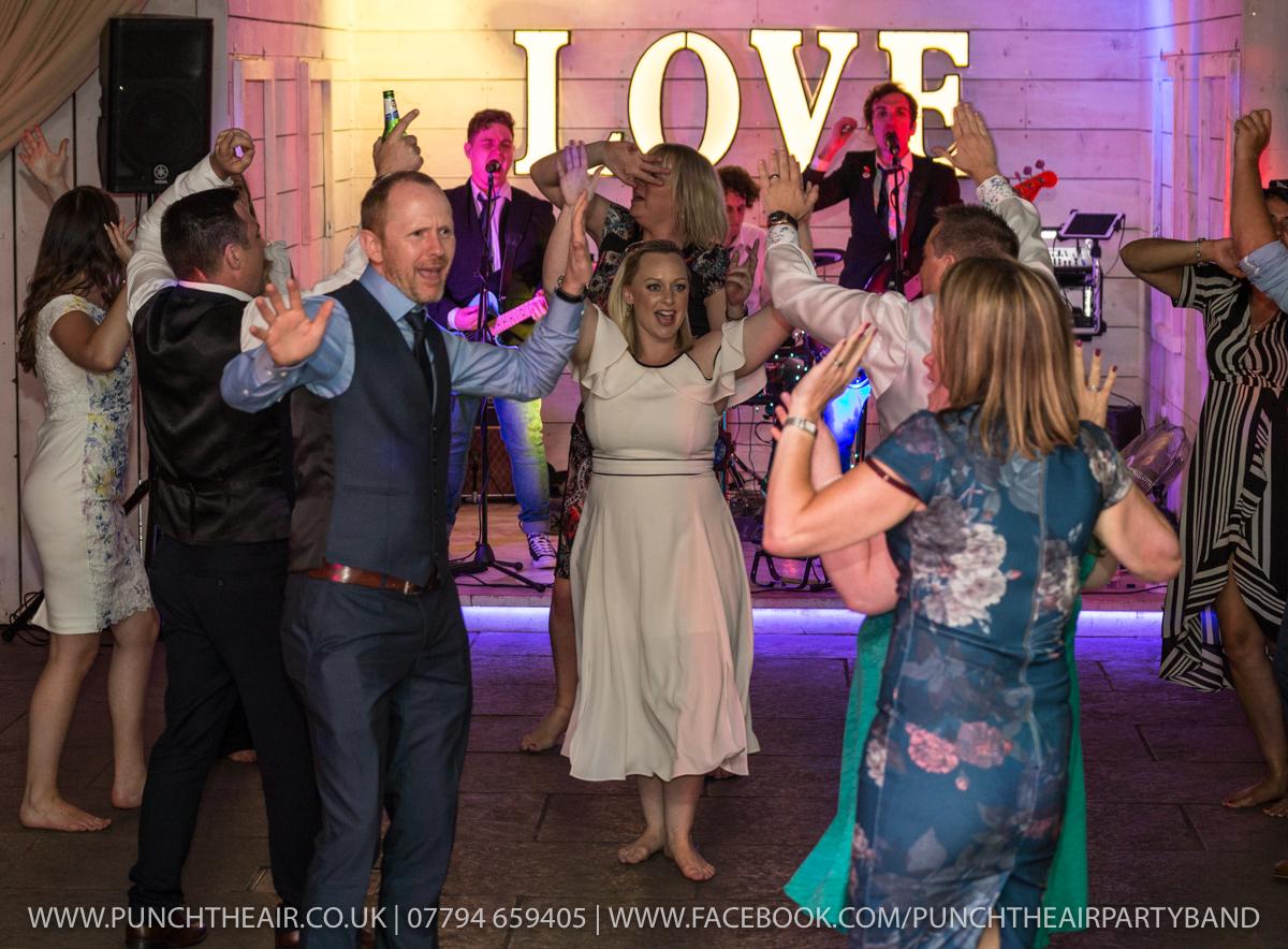 Bashall Barn Wedding Band