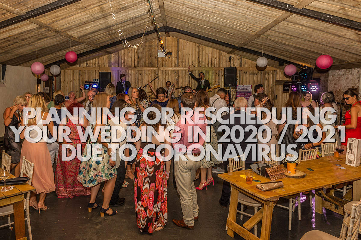 Coronavirus Advice Planning Rescheduling Wedding 2020 2021
