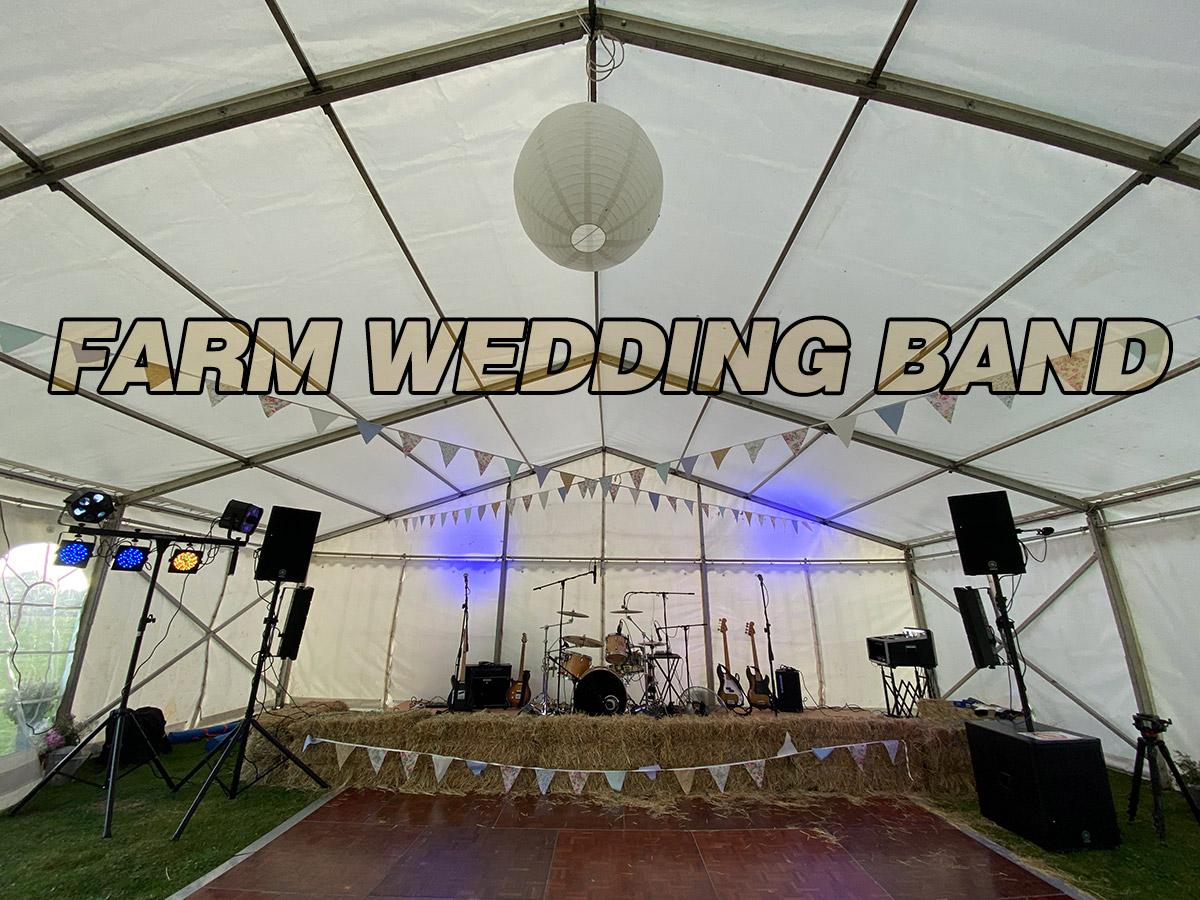 Farm Wedding Band