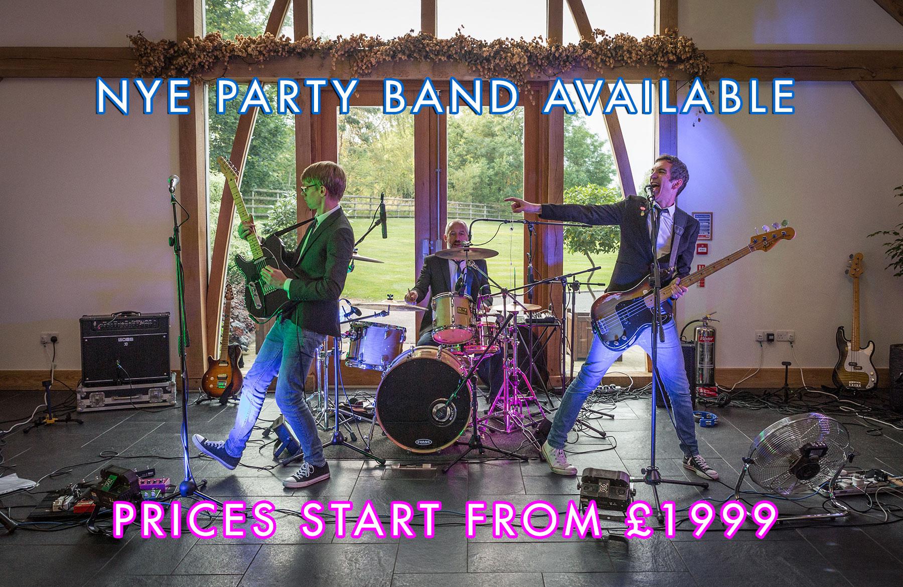 Last Minute NYE Band