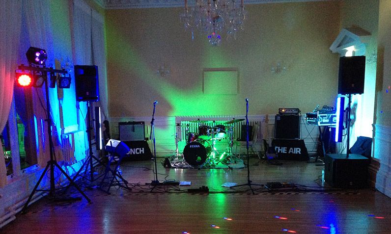 Rodbaston Hall Wedding Band