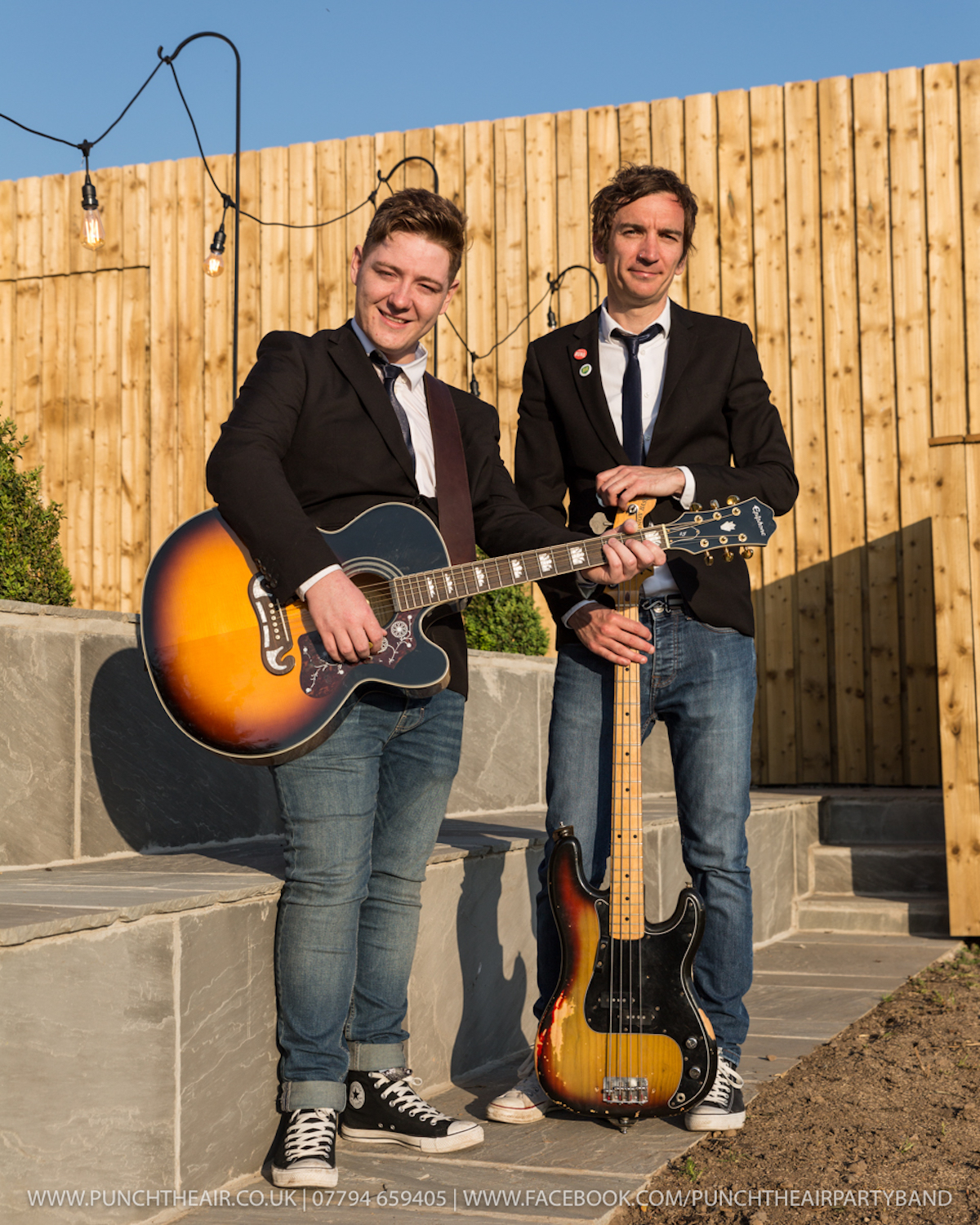 Acoustic Duo Wedding Band-Guitar-Bass