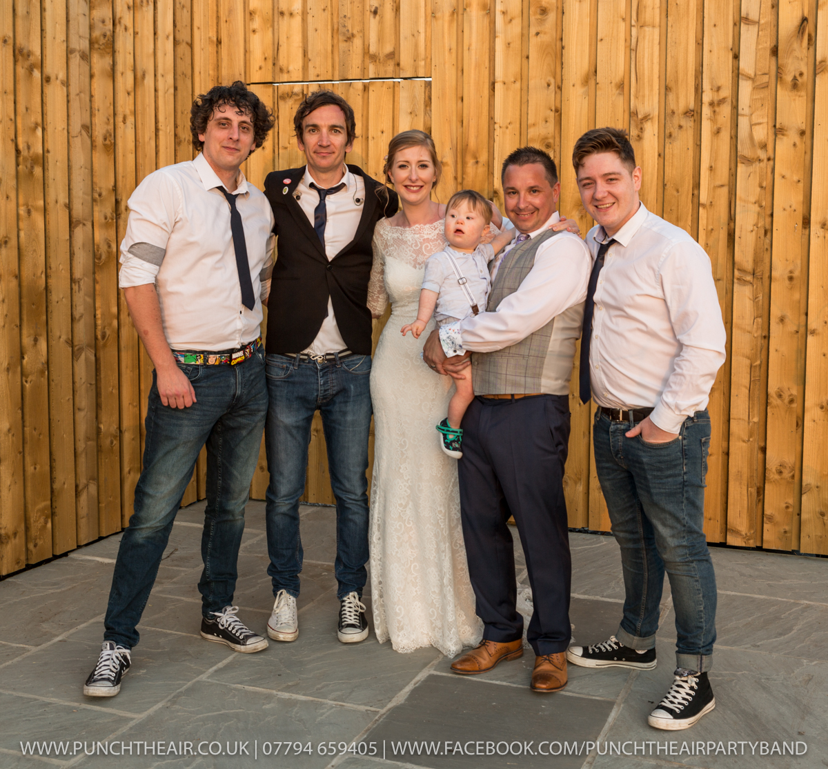 Wedding Band Bashall Barn