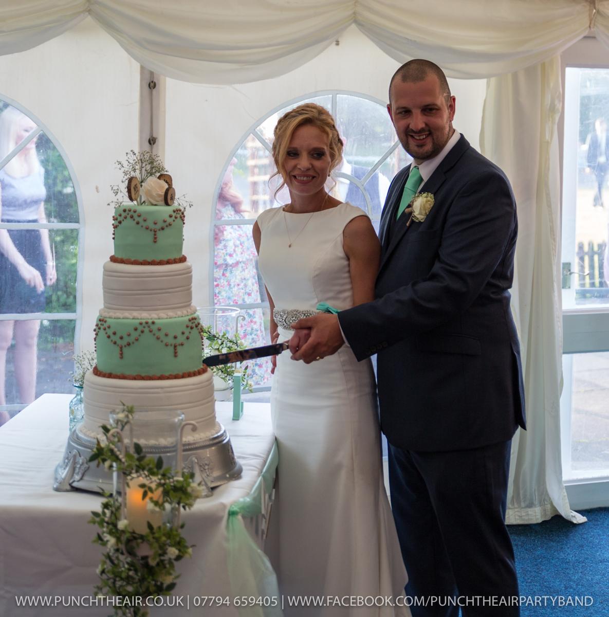Wedding Band Brook Marston Farm Hotel