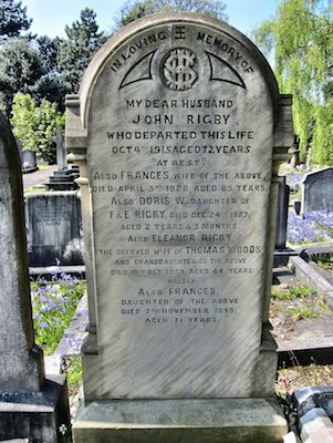 Eleanor Rigby Grave