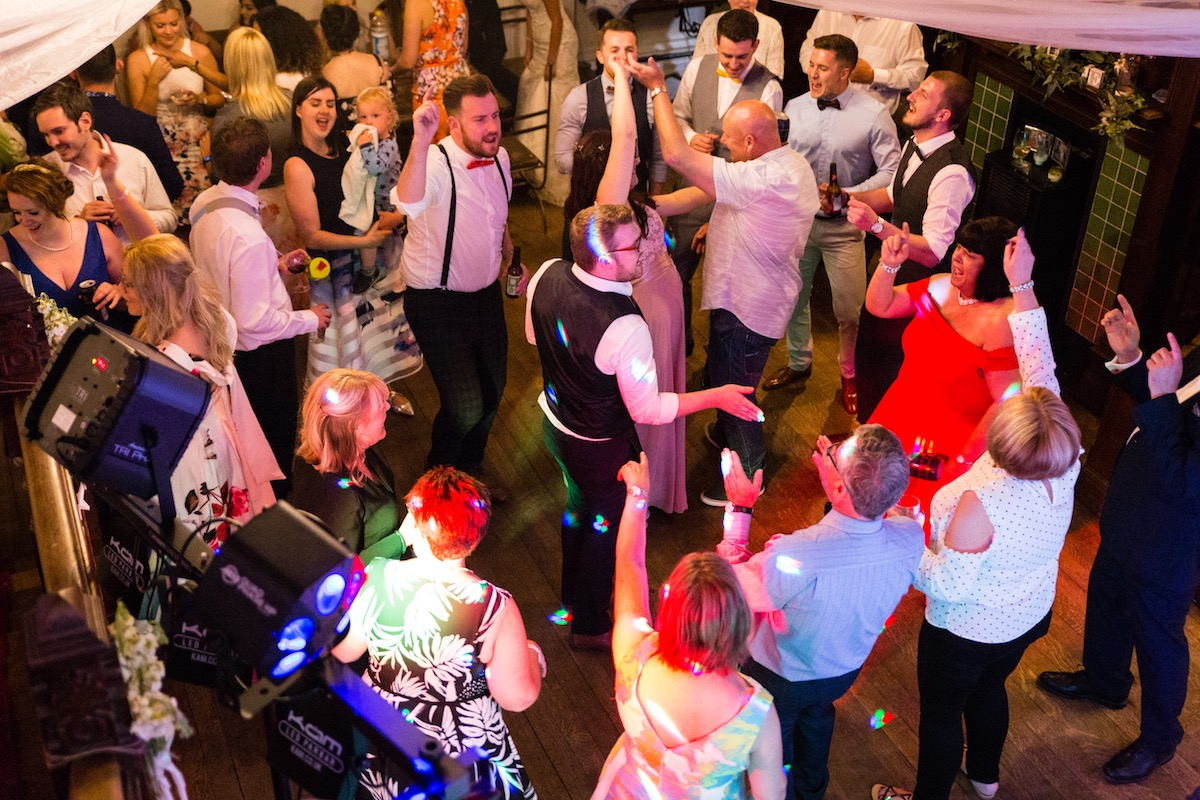 Hargate Hall Buxton Derbyshire Wedding Band