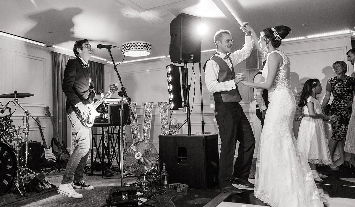 Staffordshire Indie Band Wedding