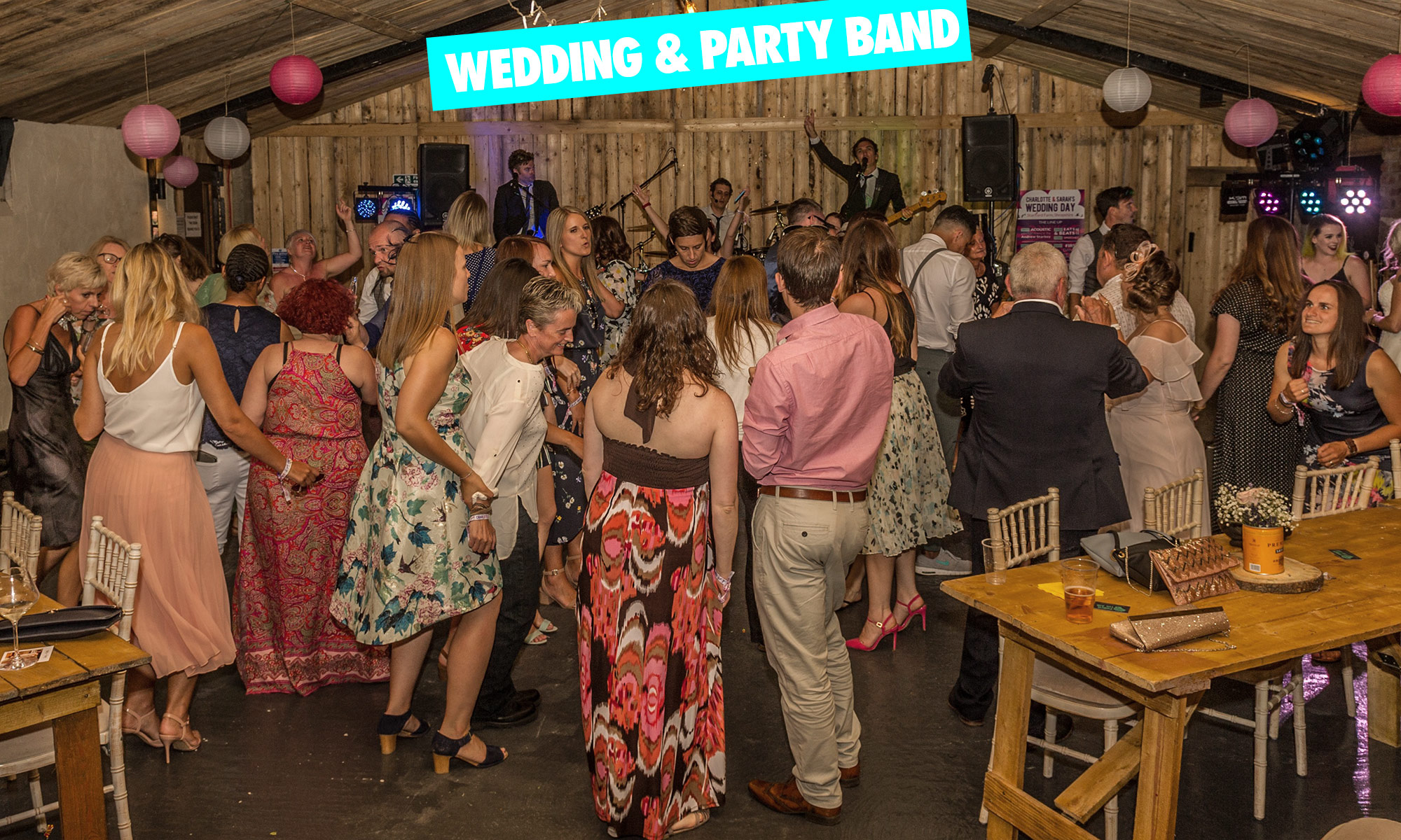 Indie Rock Wedding Band & Parties