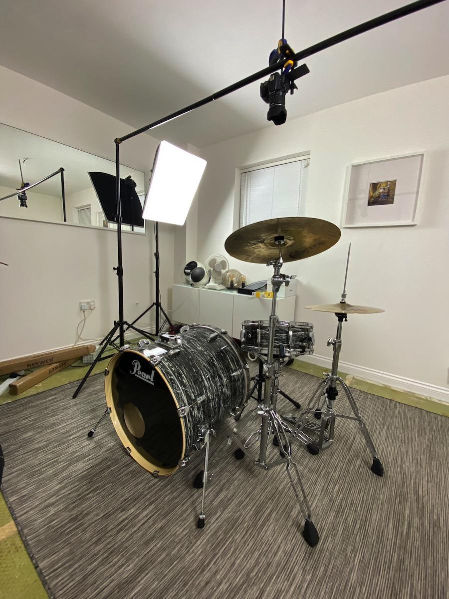 Overhead Drum Camera