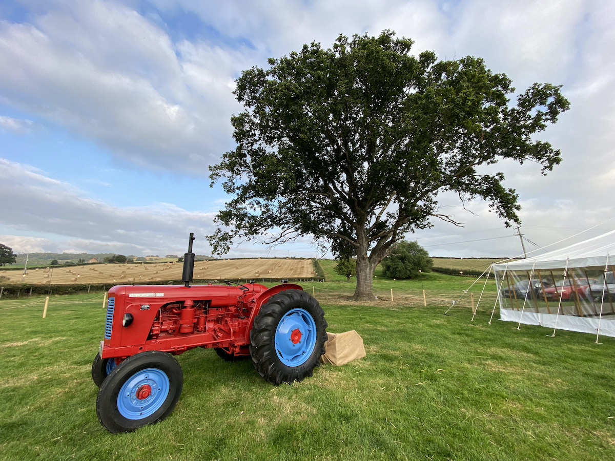 book a band for a wedding on a farm