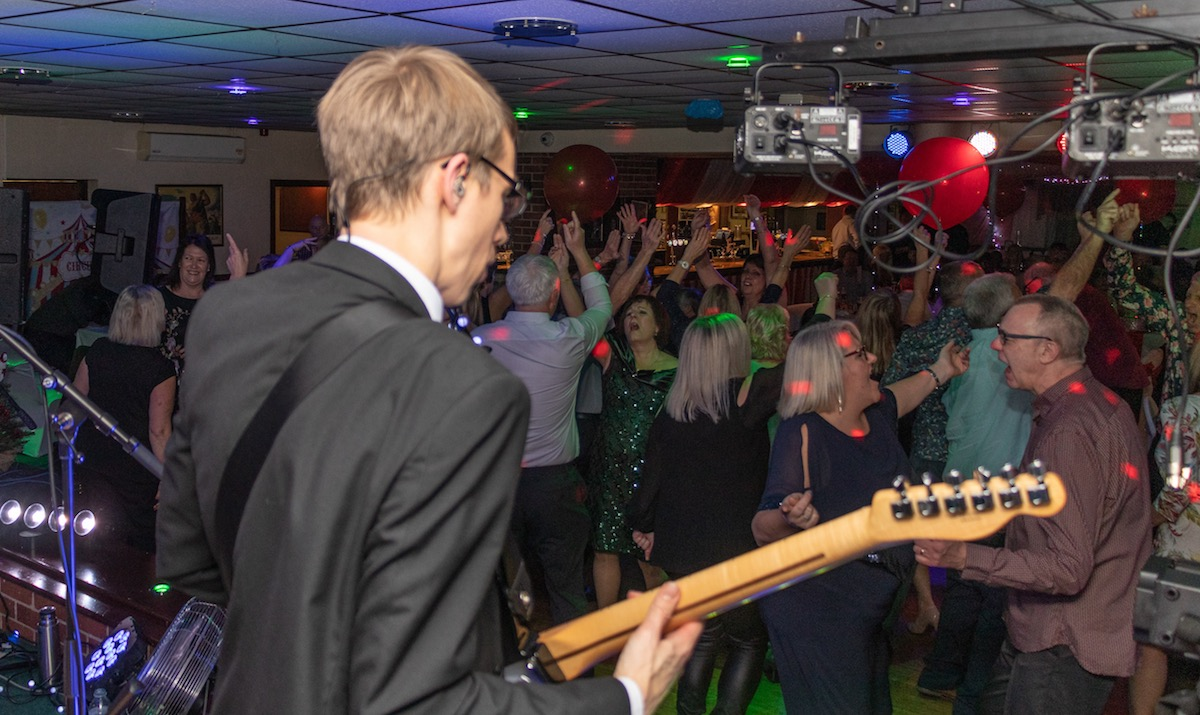 Netherstowe House Wedding Band Lichfield