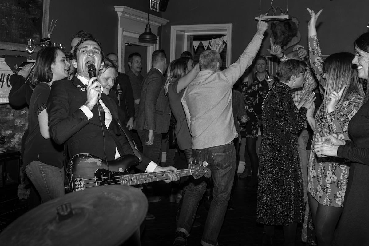 School House Wedding Band Weeford Lichfield