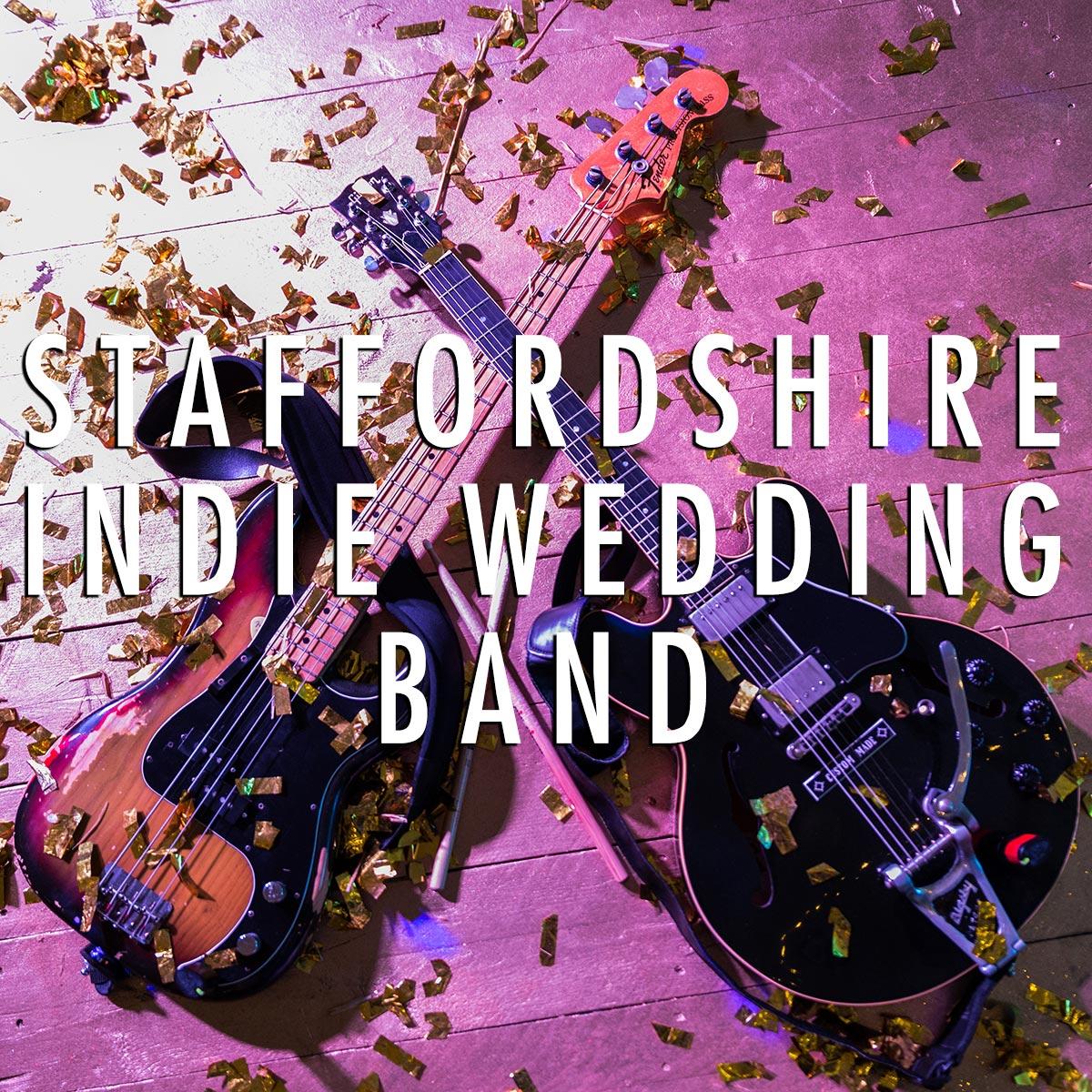 Staffordshire Indie Wedding Band
