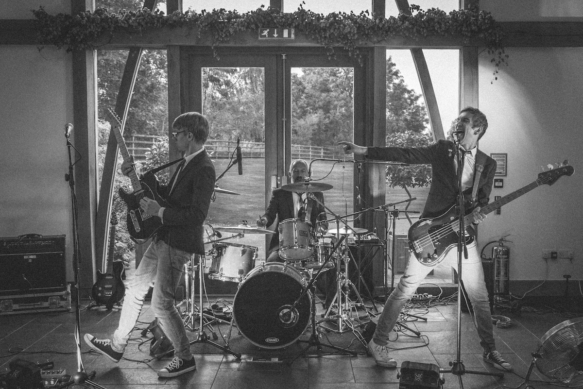 Standon Hall Wedding Band Eccleshall Staffordshire