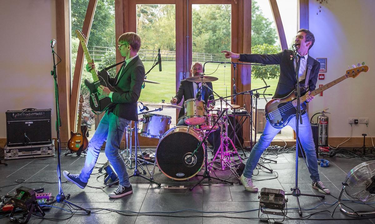 Sweeney Hall Wedding Band Oswestry Shropshire