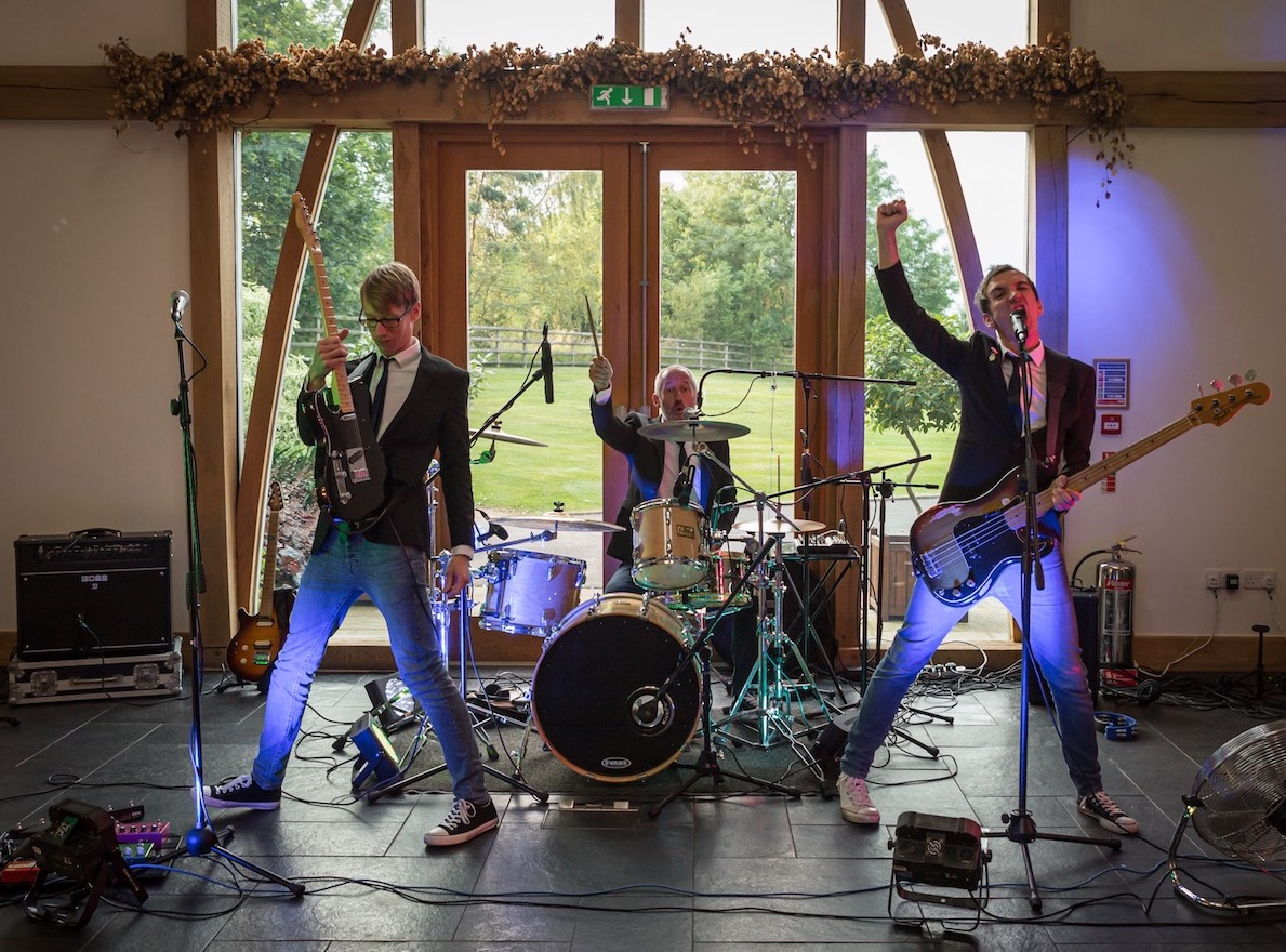 Wedding Band In Shropshire