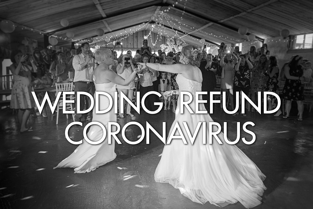 Wedding Refund Coronavirus
