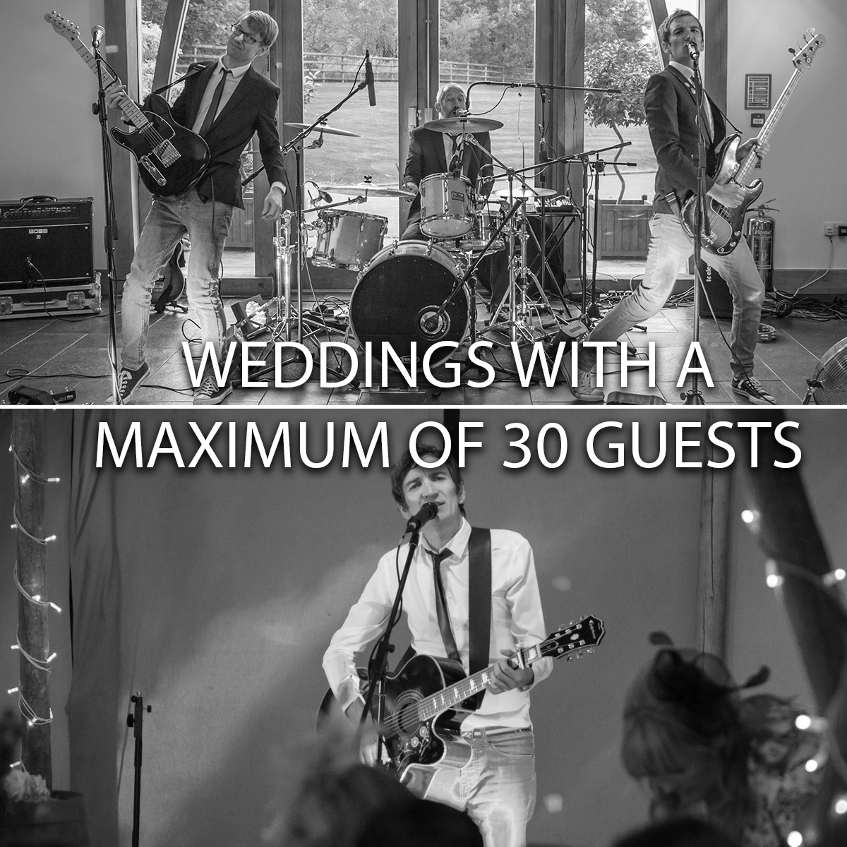 Weddings With A Maximum Of 30 Guests